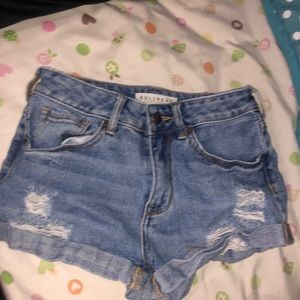 brand new high rise pacsun shorts